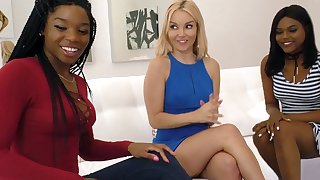 Aaliyah Love Having Hot Interracial Lesbian Sex