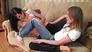 Amazing adult movie Lesbian private exotic , it's amazing