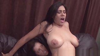 girl-girl strap-on anal sex fun