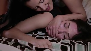 Hand Over Mouth on Bratty Roommate Lily LaBeau!