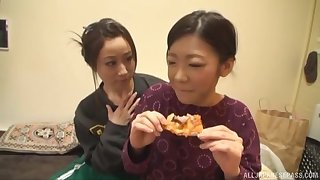 Yuu Kawakami is yoke step closer with respect to reach orgasm with her friend