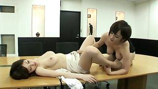 japanese office lady butch